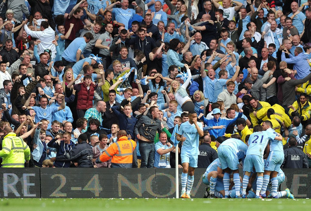 Premier League -   Manchester City campeão no último segundo